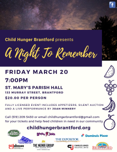 Child Hunger Brantford